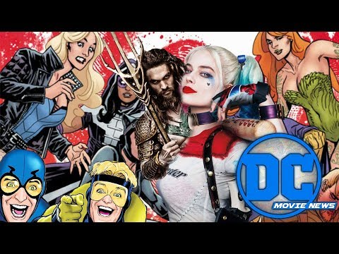 Billion Dollar Aquaman, Birds of Prey, Shazam, New Gods, Batman updates! - DC Movie News