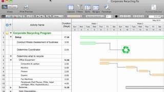 Mac Project Management Software, FastTrack Schedule 10 for Mac Quick Tour