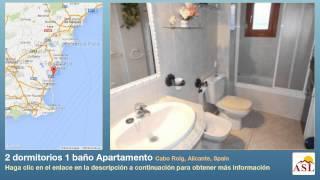 preview picture of video '2 dormitorios 1 baño Apartamento se Vende en Cabo Roig, Alicante, Spain'