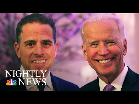 Bidens Speak Out On Trump's Accusations & U.S. Ambassador To Testify On Capitol Hill | Nightly News