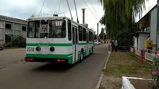 Мастерство управления троллейбуса