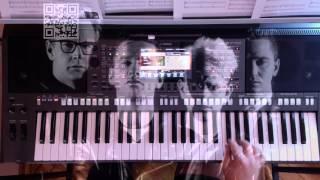 Depeche Mode - Enjoy The Silence  - Yamaha PSR-S770