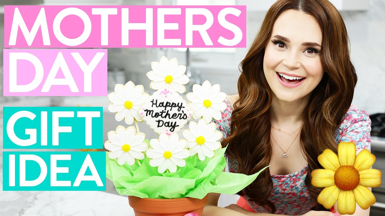 DIY MOTHERS DAY GIFT IDEA! - Cookie Flower Bouquet thumbnail