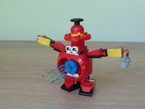 Vidéo LEGO Mixels 41563 : Splasho