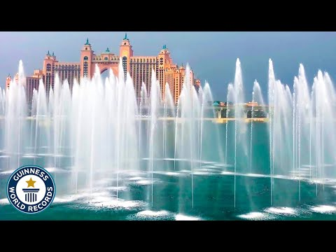 The Beauty of the World's Largest Fountain