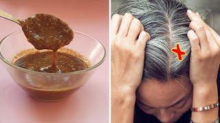 Shampoo Für GRAUER HAAR|Beseitigen Sie ihr Graues Haar nach nur 45 Minuten mit dieser Mischung