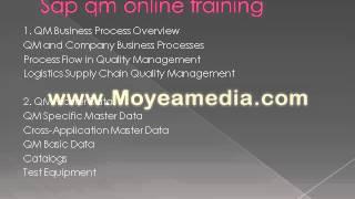 Sap QM online training tutorial