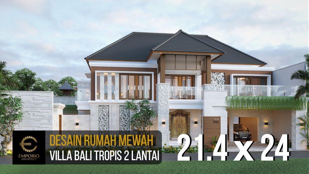 Video 3D Desain Rumah Villa Bali 2 Lantai dr. Ngurah Eka di Denpasar, Bali