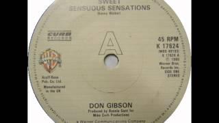 "Don Gibson ""Sweet Sensuous Sensations"""