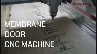 Woodworking Router CNC for Membrane Door - OMNI