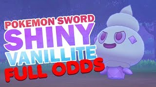 Vanillite  - (Pokémon) - FULL ODDS SHINY VANILLITE! || Pokemon Sword and Shield!