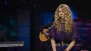 Taylor Swift - White Horse Acoustic @ AOL Music