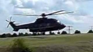 preview picture of video 'Start eines Eurocopter AS 332 L1 Super Puma der Bundespolizei in Radeburg'