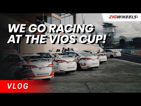 Racing at the 2021 Vios Cup + Hello GR Yaris! | Zigwheels.Ph Vlog