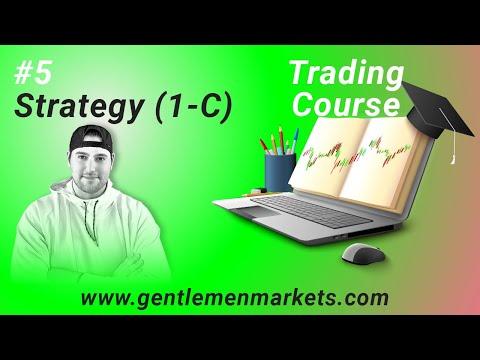 #5  Strategy 1-C | Free Trading Course 2021 | David Dotan.