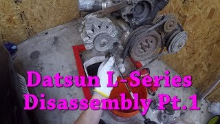 Datsun L-Series Engine Guide Ep.2: Disassembly Pt.1