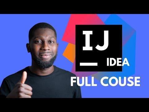 IntelliJ IDEA   Full Course   2020