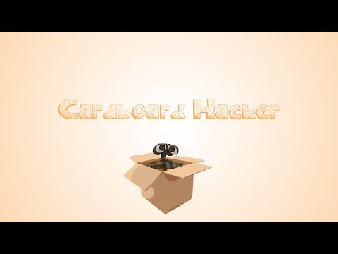 CardboardHacker Robot Designing Live Stream