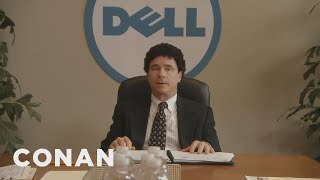 """Forget """"Steve Jobs,"""" Get Ready For """"Michael Dell""""  - CONAN on TBS"""