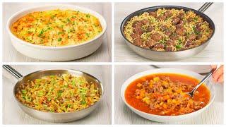 4 превосходных блюда из мясного фарша, которые захочется приготовить еще не раз. Всегда Вкусно!