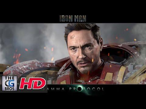 "CGI VFX Breakdowns : ""Iron Man Gamma Protocol: Example 01"" – by Anthony Mcgrath"