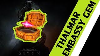 The Elder Scrolls V: Skyrim - Thalmar Embassy Stone of Barenziah Location