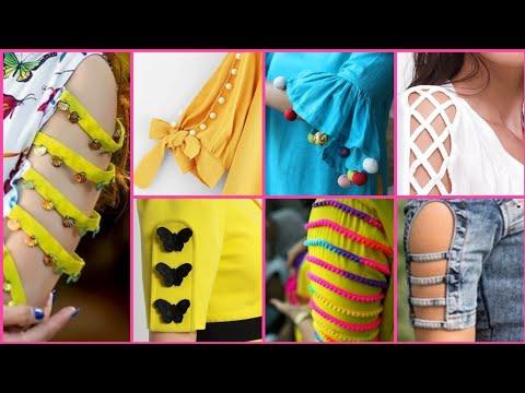 New Trendy and Useful sleeves designs for girls    2019 kameez sleeves/kurti sleeves/frock sleeves