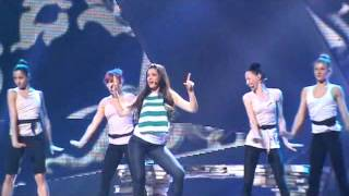 Cyprus: 1st rehearsal Eurovision 2012: Ivi Adamou - La La Love