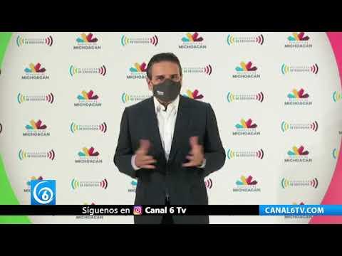 Michoacán a punto de pasar a semáforo rojo por aumento de contagios por COVID-19