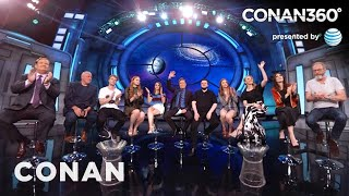 "CONAN360: ""Game Of Thrones"" Cast Interview Part 2"