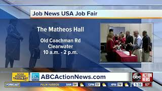 Hundreds Of Jobs Available At Job Fair On Thursday