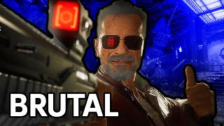 Mortal Kombat 11: Terminator T-800 Fatalities, Brutalities, and Fatal Blows