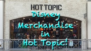 Disney Merchandise in Hot Topic!
