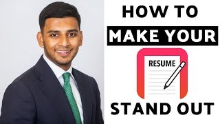 How to Write an Amazing CV/Resumé (10 Tips That WILL Get You OFFERS!)