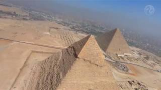 Skydiving Over The Pyramids
