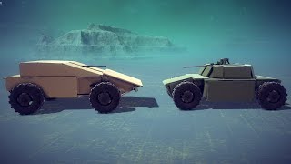 Armored Car Battle | Besiege