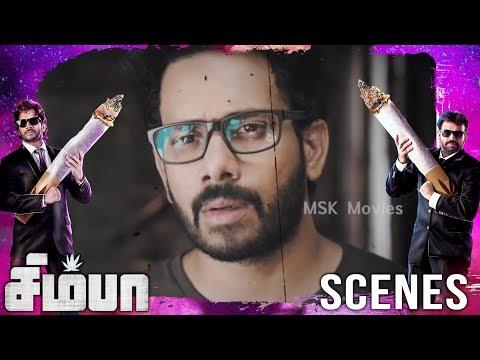 Mahesh takes simba hospital as he gets car accident | Simba(சிம்பா) Movie Scenes | Bharath, Premgi