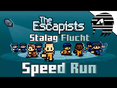 The Escapists Stalag Flucht Speed Run | Day One Escape
