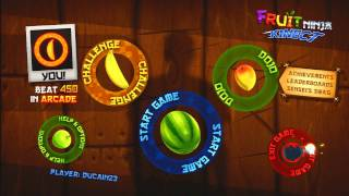 Lets Play - Fruit Ninja Kinect [HD]