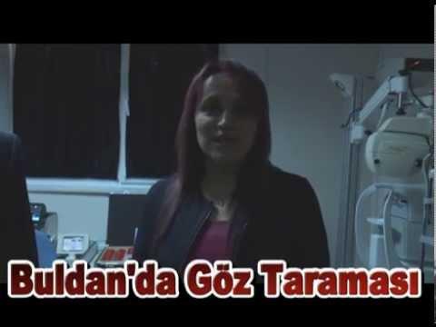 BULDAN'DA ÖĞRENCİLERE GÖZ TARAMASI