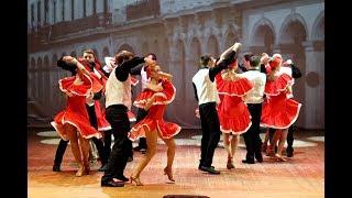 Сальса в Белгороде! Школа танцев Dance Life! Rueda de casino! Salsa cubana dance video!