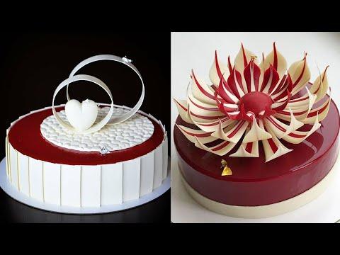 8 Fancy Chocolate Cake Tutorials | So Yummy Cake Decorating Ideas