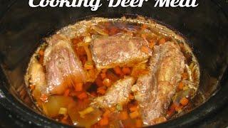 Cooking Deer Meat / Venison