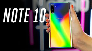 Samsung Galaxy Note10 and Samsung Galaxy Note10+ hands-on: the small one is a big deal