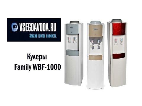 Обзор кулеров Family WBF 1000
