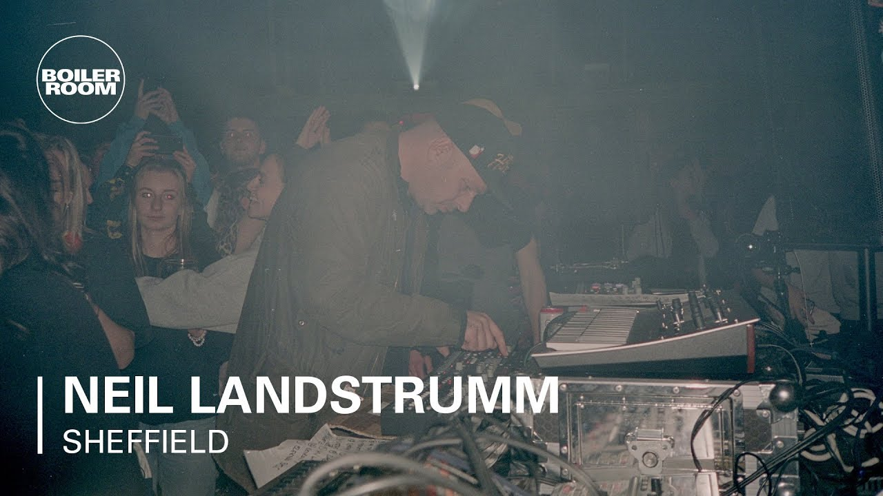 Neil Landstrumm - Live @ Boiler Room Sheffield: Shaped The Future 88-18 2018