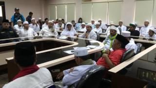 Dukungan Para Alim Ulama Banten Untuk Mempertahankan Perda No2 Tahun 2010
