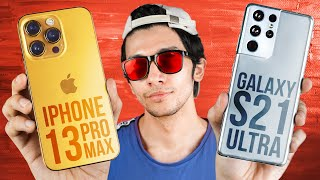 Apple iPhone 13 Pro Max vs Samsung Galaxy S21 Ultra 5G - Which Should You Buy?