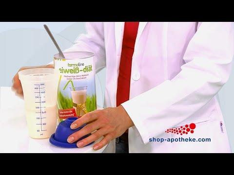Gesund und effektiv abnehmen mit formoline eiweiß-diät Pulver