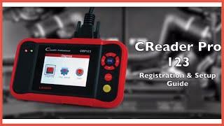 CReader Pro 123 Registration & Update Video